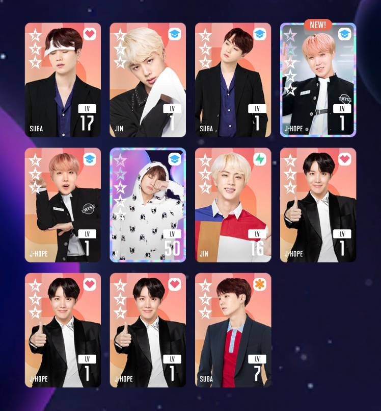 Got 2x Boy In Luv Cards Ft My First Ever J Hope 5 Card Bts World