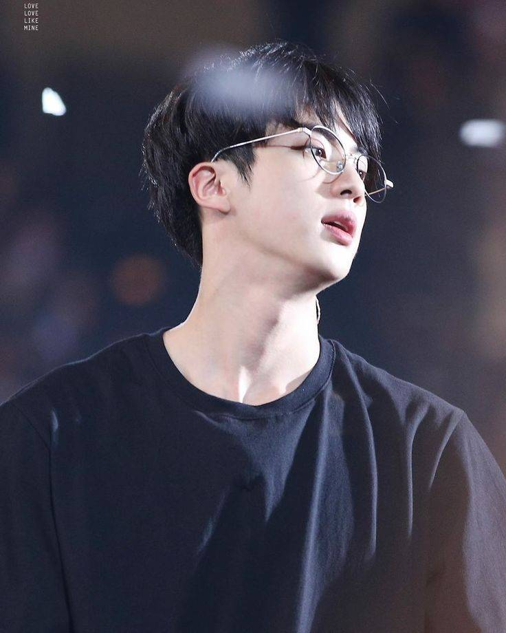Jin With Glasses Bts World