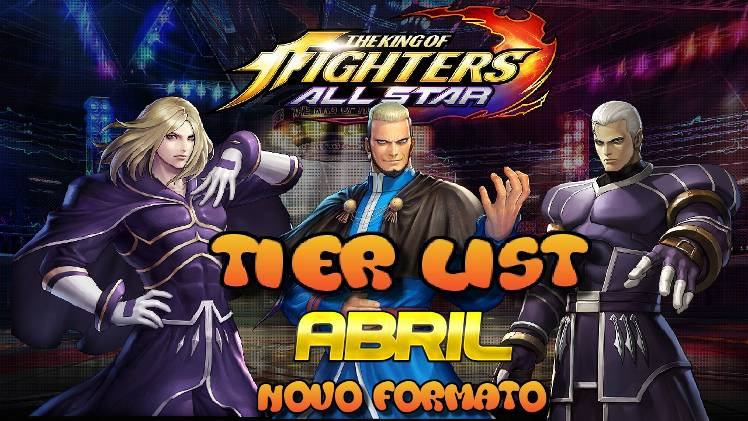 Tier List Of April The King Of Fighters Allstar Official Community