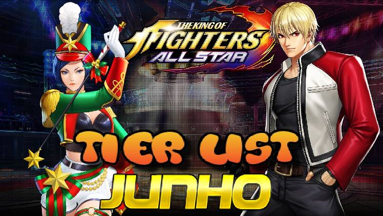 Tier List Of June The King Of Fighters Allstar Official Community