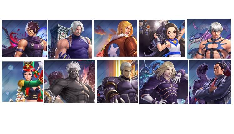 Top 10 Pvp Fighter Japan Tier List The King Of Fighters Allstar
