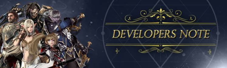 Developer's Note: Class Balance Update Preview - Lineage 2