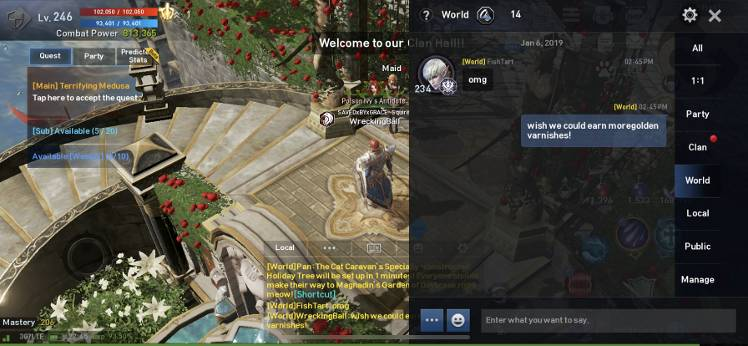 Wish we could earn more golden varnishes - Lineage 2