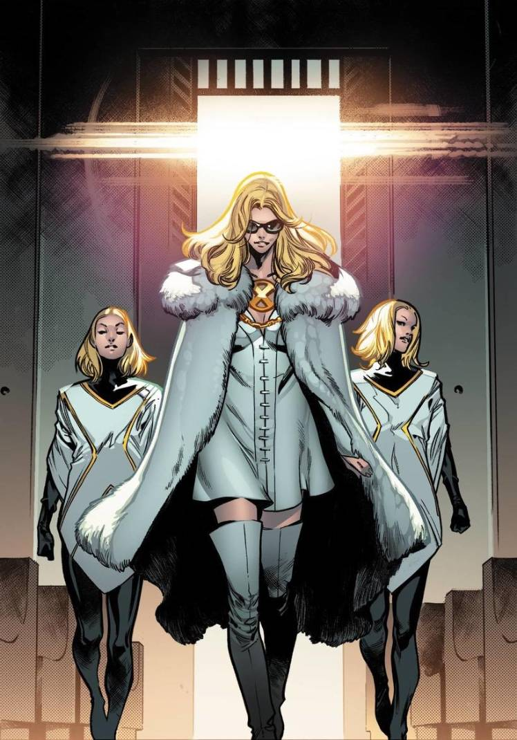 Marvel Super Hero Squad Emma Frost Clear