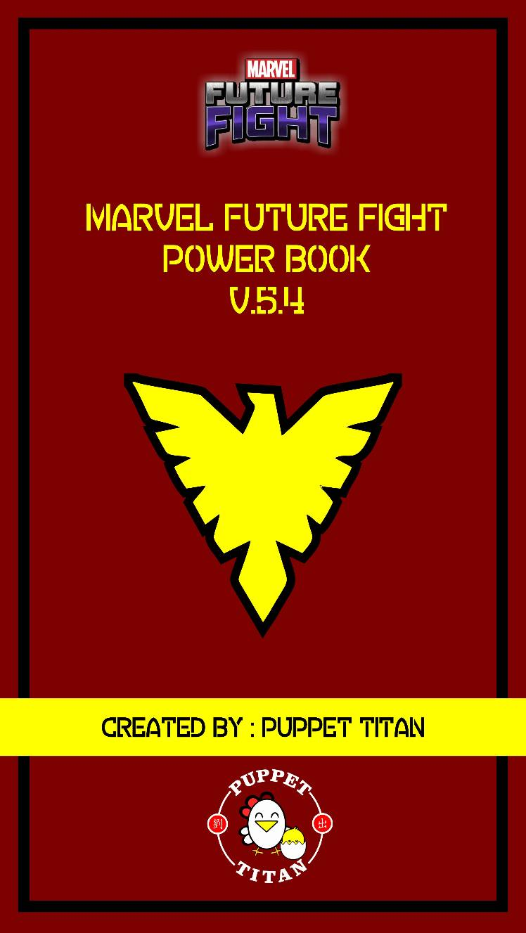 Marvel Future Fight Power Book V.5.4 : The Complete Edition - MARVEL Future  Fight