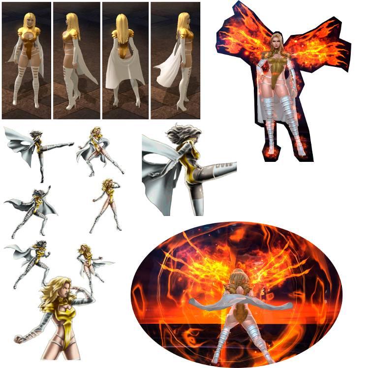 Please Netmarble Rework Emma Phoenix Uni Skills And Model Marvel Future Fight